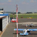 Flugplatz Gera - Vorfeld