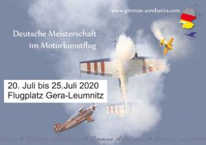 DM Motorkunstflug Gera 2020